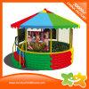 Syndicat de prix ferme coloré de bille de matériel de jeu de chapeau de dessus rond pour des enfants