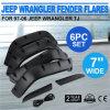 Tj. Las flamas de la defensa del uso 6PCS fijaron para el Wrangler del jeep 97-06