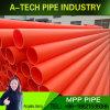 熱い販売の地下ケーブルの保護のための電気絶縁体Mppの管