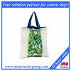 Sacchetto di acquisto quotidiano del sacchetto del cliente del Tote del regalo della tela di canapa per promozionale