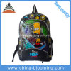Cartoon Student School Backpack Criança Adolescente PVC Bag