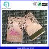 Tarjeta de oro de lujo modificada para requisitos particulares de la tarjeta de visita del metal del diseño