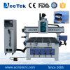Atc de la máquina del ranurador del CNC de la carpintería con 8 herramientas