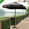 Parapluie de jardin en aluminium aluminium de 2mx2m pour le marché australien (PU-2020A)