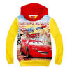 Оптовое Hot Selling Kids Clothing Fashion Cartoon Train и Car Coats и фуфайка Jackets Autumn Spring