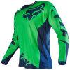 Зеленая ориентированная на заказчика быстро сухая сублимация T-Shrit участвуя в гонке Джерси (MAT54)