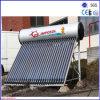 Princípio de funcionamento profissional de calefator de água solar