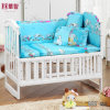 Blue Printing Baby Bedding Sets with Snoopy