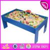 Kids、Children、Baby、Factory W04c009のためのRoller Coaster Track TableのためのFunny Wooden Railway Train Setのための2014木のRailway Train Toy