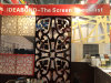 CNC Carved 4mm Screen High Gloss Aluminum Composite Panel