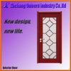 Door en bois avec Glass Vision Panel