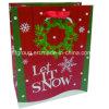 La caja de regalo impreso bolsa de papel de Navidad