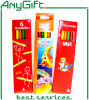 6 PCS Set de lápices de colores de 7 pulgadas