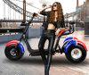 1000W 60V/20ahの3つの車輪のHarley Citycocoの電気スクーター