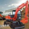 Excavadora de ruedas Precio 0.3m3 baja con CE