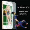 Anti-Fingerprint para el iPhone 6 Accessories Tempered Glass Screen Protector