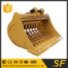Emmer de Van uitstekende kwaliteit van het Skelet van de Rots van het Graafwerktuig van de Emmer van Griding van de Steen van het graafwerktuig in China