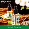 Vivre en tant que liquide liquide de la cigarette électronique E de saveur de menthe et de tabac de fleur d'été