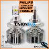 De LEIDENE van het Merk 50W 6000k 4500lm van Philips AutoKoplamp van Koplampen
