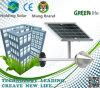 Lampe économiseuse d'énergie solaire de modèle vert avec le contrôle léger intelligent