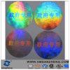 Escrituras de la etiqueta evidentes del laser del pisón durable pegajoso resistente ULTRAVIOLETA brillante olográfico