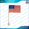 American Flag Wood Staff 4 X6 W / Suction Cup (J-NF24F03002)