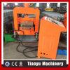 Paseo de la bandeja de metal Cable Purlin máquina de formación de la junta