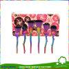 6PCS het Nylon Groene Handvat van uitstekende kwaliteit van het Haar nam de Borstels van de Make-up van de Bloem toe