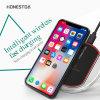 De hete Lader Qi van de Telefoon van het Kristal USB van de Verkoop Draadloze aan Groothandelsprijs