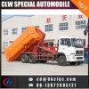 16-18m3 유압 기중기 콘테이너 훅 상승 쓰레기 트럭