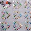 Goedkope Stickers van de Brieven van het Bergkristal van de Kleuren van het Team van China van de Prijs Diverse