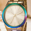 Montre-bracelet de mode de montre du quartz des hommes faits sur commande de logo pour l'homme (WY-17003C)