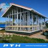 Chalet de acero de la luz de la fabricación de China como edificio prefabricado