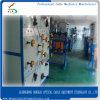 Caída de FTTH+Cable simple/doble línea de producción de cable de fibra óptica