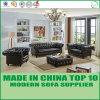 Sofas en gros modernes de Chesterfield d'hôtels de cuir véritable de meubles