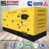 無声125kVA 100kwリカルド3phaseスタンバイ135kVA 110kwのディーゼル発電機