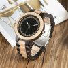Het modieuze Houten Horloge van het Kwarts van de Pols van het Horloge Unisex-