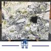 실내 장식 분대 손 씻는 그릇을%s 중국 얼음 녹색 까만 녹색 백색 변성 둥글게 뭉친 무질서한 선 대리석