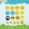 Дешевые Cute Cartoon Smile Emoji сталкиваются с холодильником холодильник наклейки с логотипом магнита