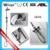 Insieme dell'acquazzone della stanza da bagno, miscelatore del rubinetto dell'acquazzone dell'acciaio inossidabile, acquazzone (AB201)