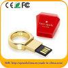 Azionamento dorato dell'istantaneo del USB di stile dell'anello del metallo del Ept (ED 610)