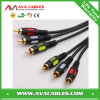 RCA Audio/Video Cable, 3 RCA to 3 RCA