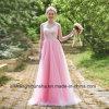 Возвращение домой женщин одевает платье Bridesmaid шнурка безрукавный Backless
