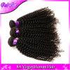 cabelo Curly Kinky Mongolian do Virgin 7A extensão Kinky do cabelo humano do Weave do cabelo Curly do Afro Mongolian de 4 pacotes