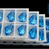 Parels van de Steen van het Kristal van de Vorm van de Bijl van het Punt van China de Decoratieve Achter voor Juwelen