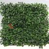 가짜 발코니 인공적인 잔디 잎 담