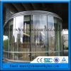 10mm Clear Tempered Glass voor Door met Roestvrij staal Hardware