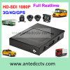 HDD 1080P 3G 4G Gravador de vídeo digital móvel com rastreamento GPS para vigilância de ônibus