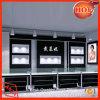 宝石類の表示カウンターの宝石類の表示装置