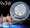 Lumière sous-marine de yacht de bateau, 27W, lumière de bateau de LED, IP68